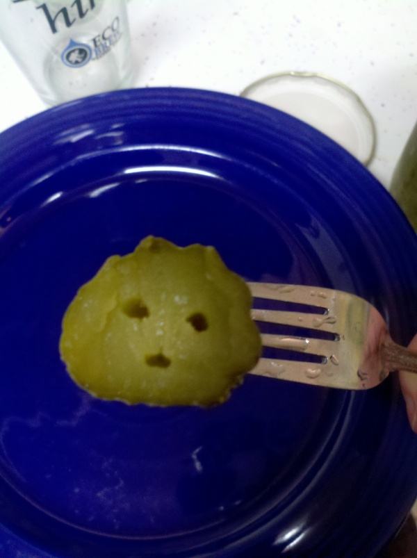 Happy pickle!